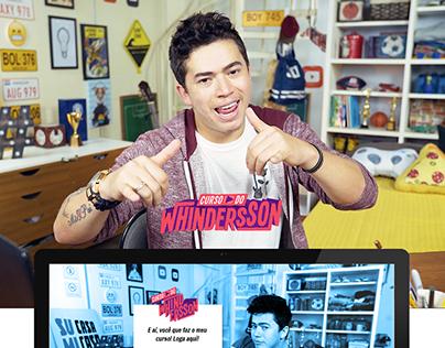Curso do Whindersson | Plataforma