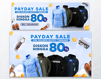 Payday Sale Fashion Banner