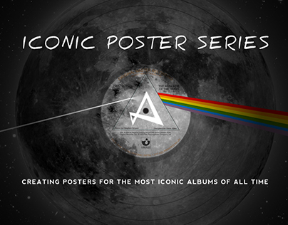 Iconic Poster Series - The Dark Side of the Moon