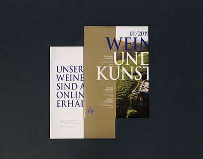 Weingut Kodolitsch | Editorial Design