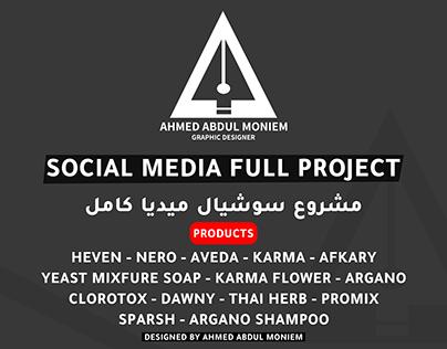 Social Media Products Vol 1