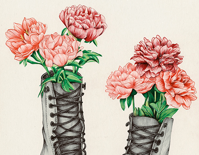 Shoe Bouquet