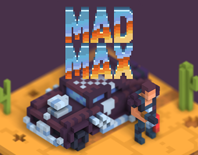 Voxel Mad Max