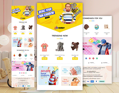 Ecommerce Newsletter Email Template Design