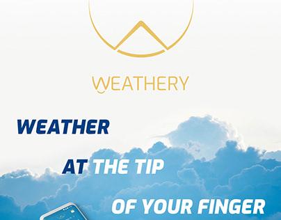 Mobile App - Weathery