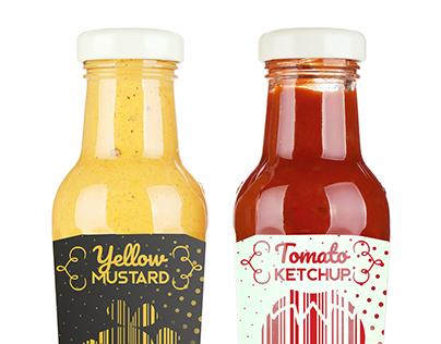 Ketchup & Mustard Packaging