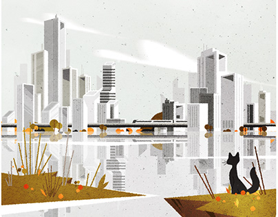 Nostalgic Skyline