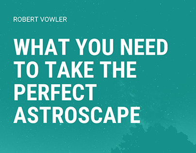 Robert Vowler   What You Need for Astroscaping