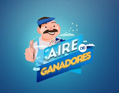 AIRE DE GANADORES