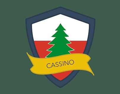 "Polish scout team ""Cassino"" stripe project"