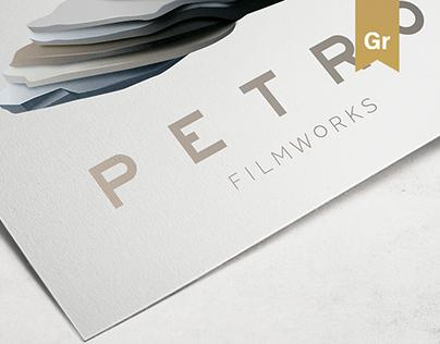 Petro Filmworks Logo Design