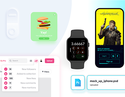 DAILY UI CHALLENGE - Part. 1/2