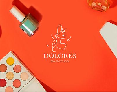 Логотип и фирменный стиль для салона красоты