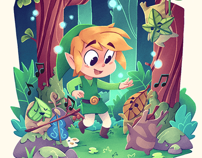 The legend of Zelda: Wind waker fanart