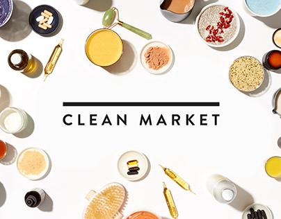 CLEAN MARKET - Brand Identity