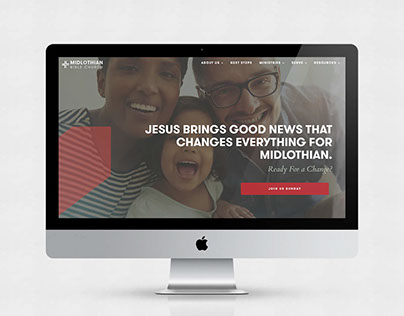 Midlothian Bible Church: Messaging & Web Design