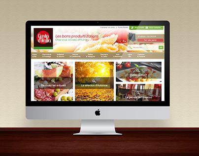Gustoditalia | Website