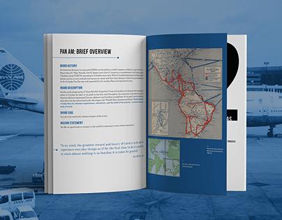 Pan Am Rebrand: Annotated Process book