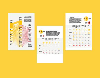 Data visualization for annual healthcare report