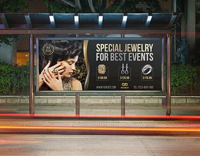 Jewelry Billboard Templates Vol.2