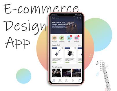 E-commerce Design App
