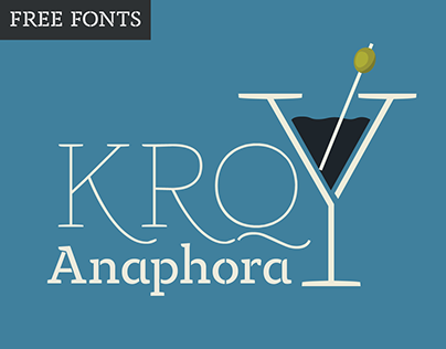 Anaphora Type Family - 22 weights free download