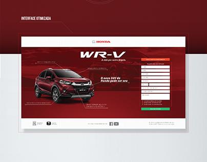 Landing Page HONDA WR-V 2017