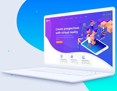 Website Presentation // Flat Mockup
