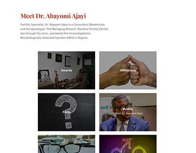 Dr Abayomi Ajayi - Personal Website