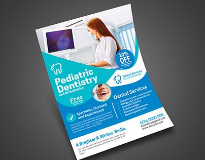 Dental medical Health care Flyer
