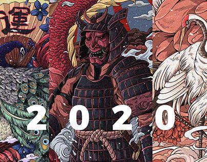 J illustrator X Ryll 2020
