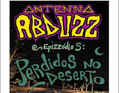 Cartazes 'Radio Antenna Abduzz'