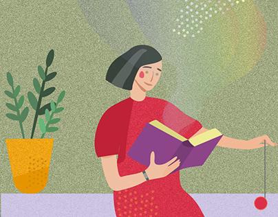 Иллюстрации для агентства Koska