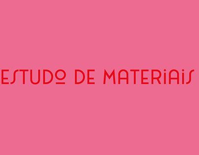 Estudo de Materiais