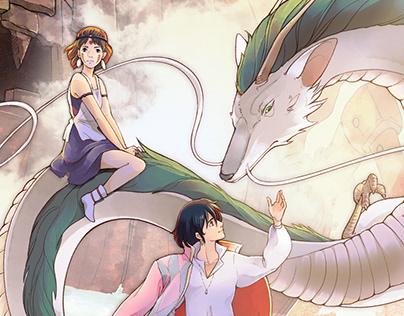 Commission Ghibli for Leo