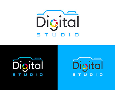Minimal Logo Creation, Digital Studio Logo