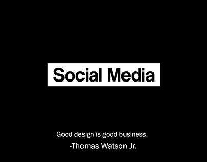Social Media Design Compilation