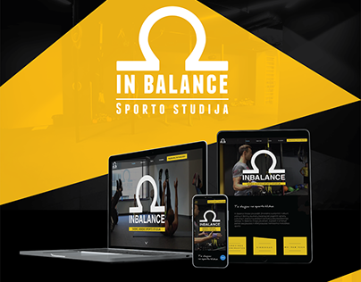 Inbalance sport studio WEB