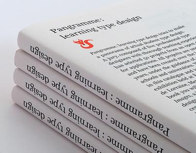 Pangramme : learning type design