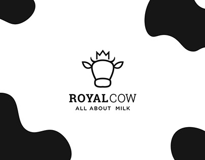 ROYAL COW branding project.