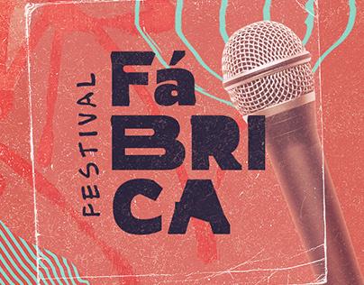 Festival Fábrica - Identidade Visual