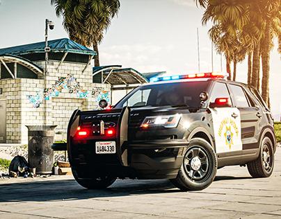 2016 Ford Police Interceptor Utility| Full CGI