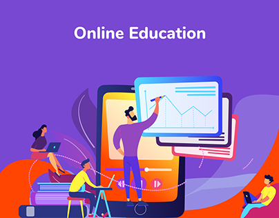 landing page for online education