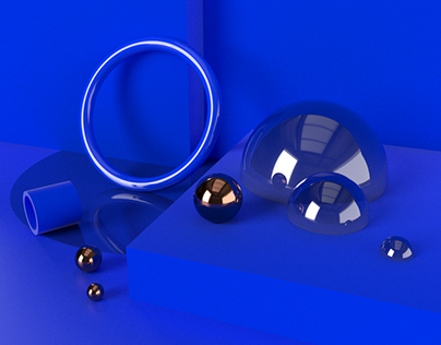 Geometric 3D composition