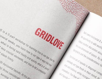 GRIDLOVE - Typography II F17