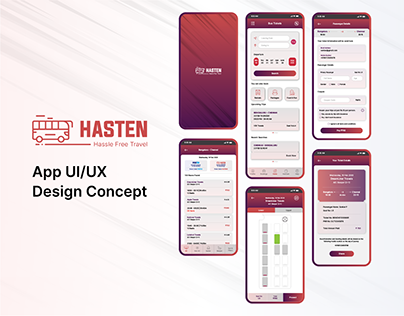 Hasten UI/UX Design Concept