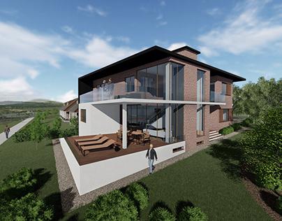 House in Australia - Architectural concept design