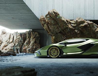 Lamborghini SIAN (CGI)