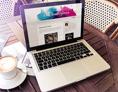 Blog identity re-design Chic Sem Esforço
