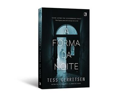 """Cover design of """"A forma da noite"""""""